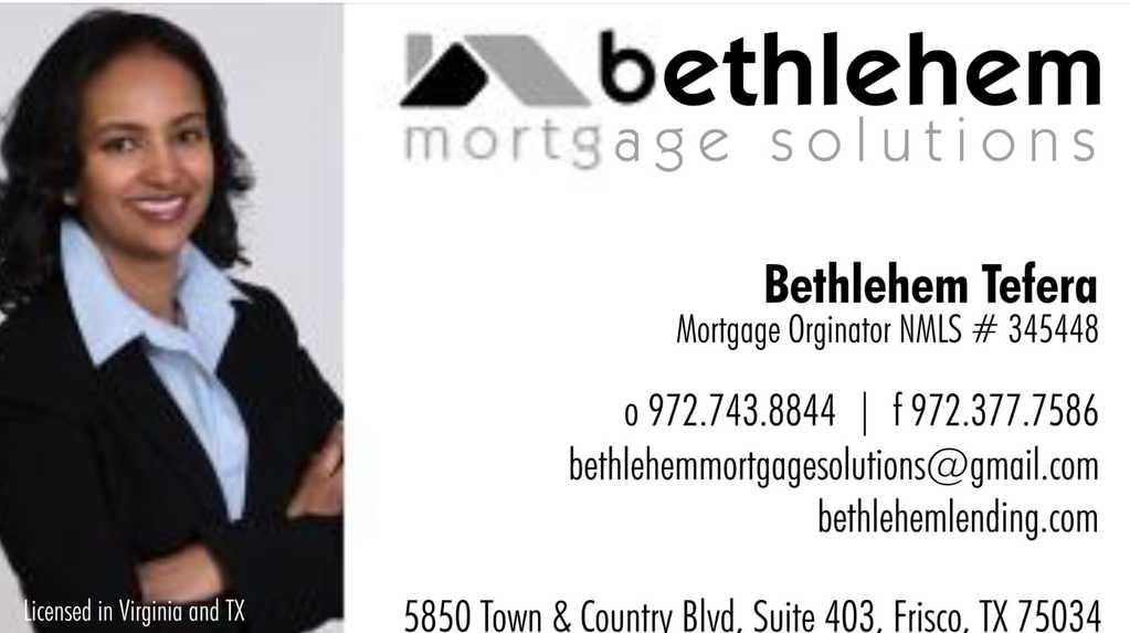 Habesha Mortgage